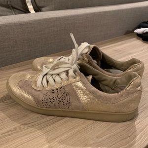 Tory Burch sneakers gold/tan size 8